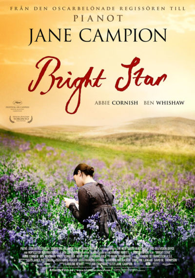 Bright Star (2009) Theatrical Onesheet, Sweden