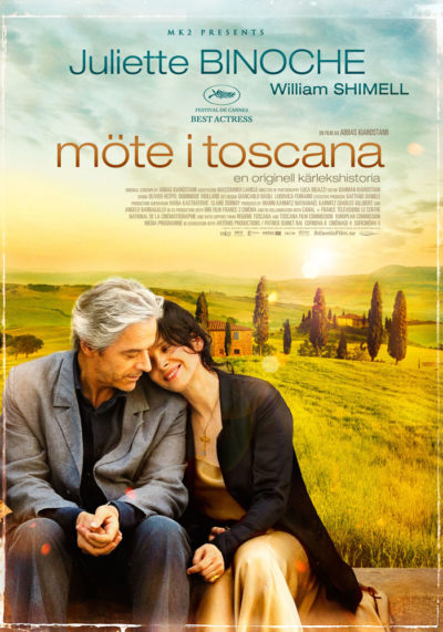 Certified Copy (2010) Theatrical Onesheet, Sweden