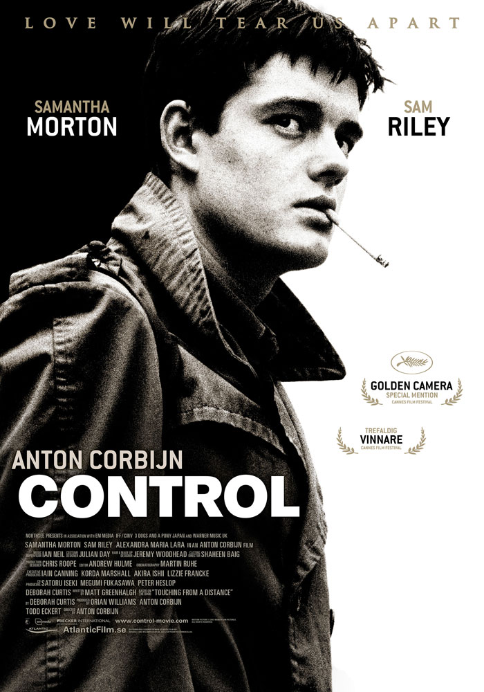control 2007 movie poster kellerman design