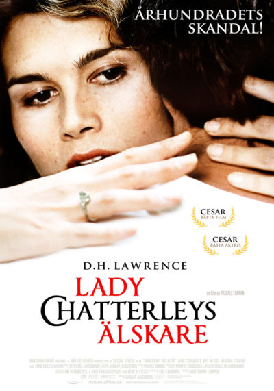 Lady Chatterly (2006) Pascale Ferran theatrical onesheet
