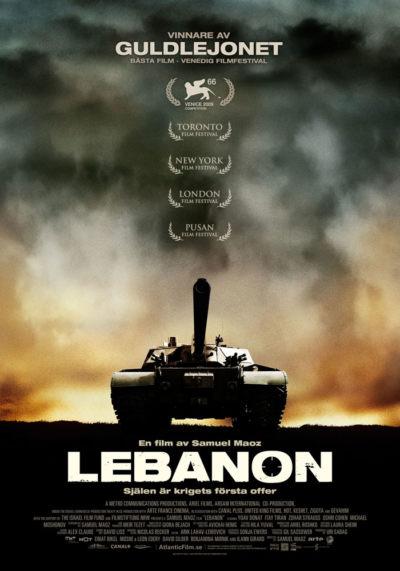 Lebanon (2009) Theatrical Onesheet, Sweden