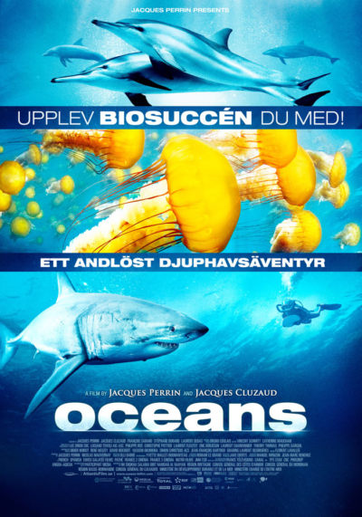 Oceans (2009) Theatrical Onesheet, Sweden