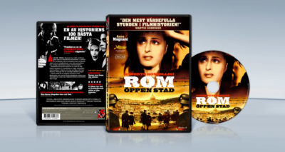 Rome, Open City (1945) Roberto Rossellini packaging