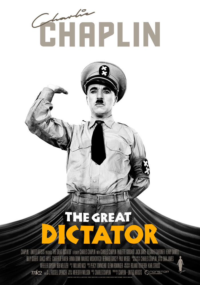 The Great Dictator (1940) Charlie Chaplin onesheet 1 eng