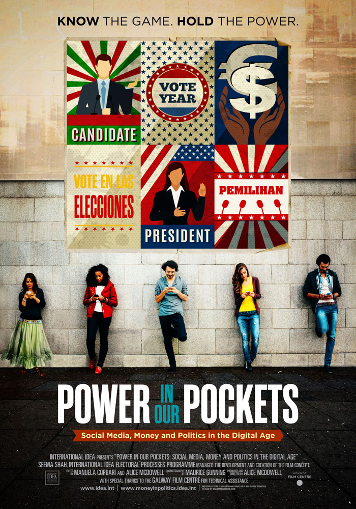 Power in Our Pockets (2016) Alice McDowell, movie poster