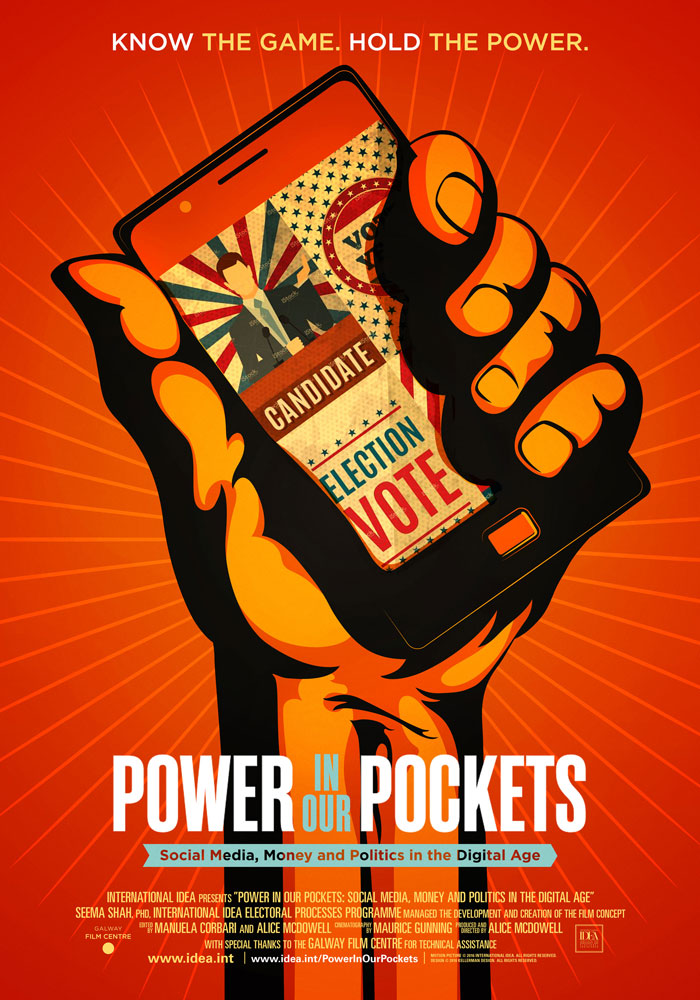 Power in Our Pockets (2016) Alice McDowell theatrical onesheet v1
