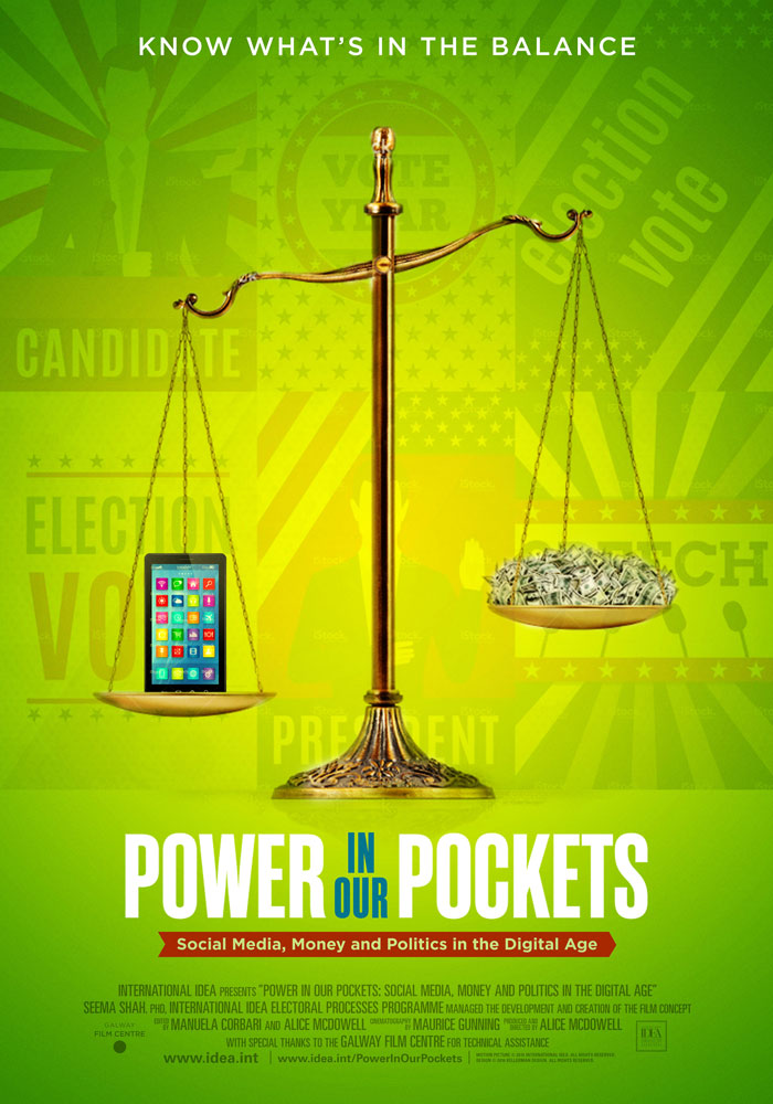 Power in Our Pockets (2016) Alice McDowell theatrical onesheet v3