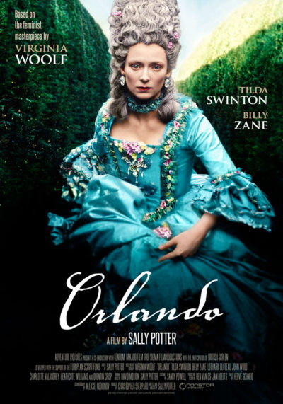 Orlando (1992) Sally Potter, movie poster, English