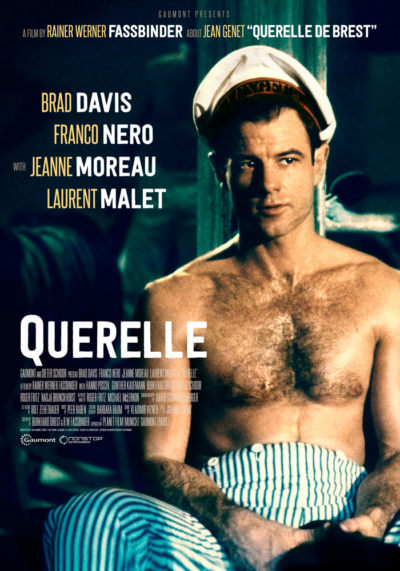 Querelle (1982) Rainer Werner Fassbinder, movie poster, English