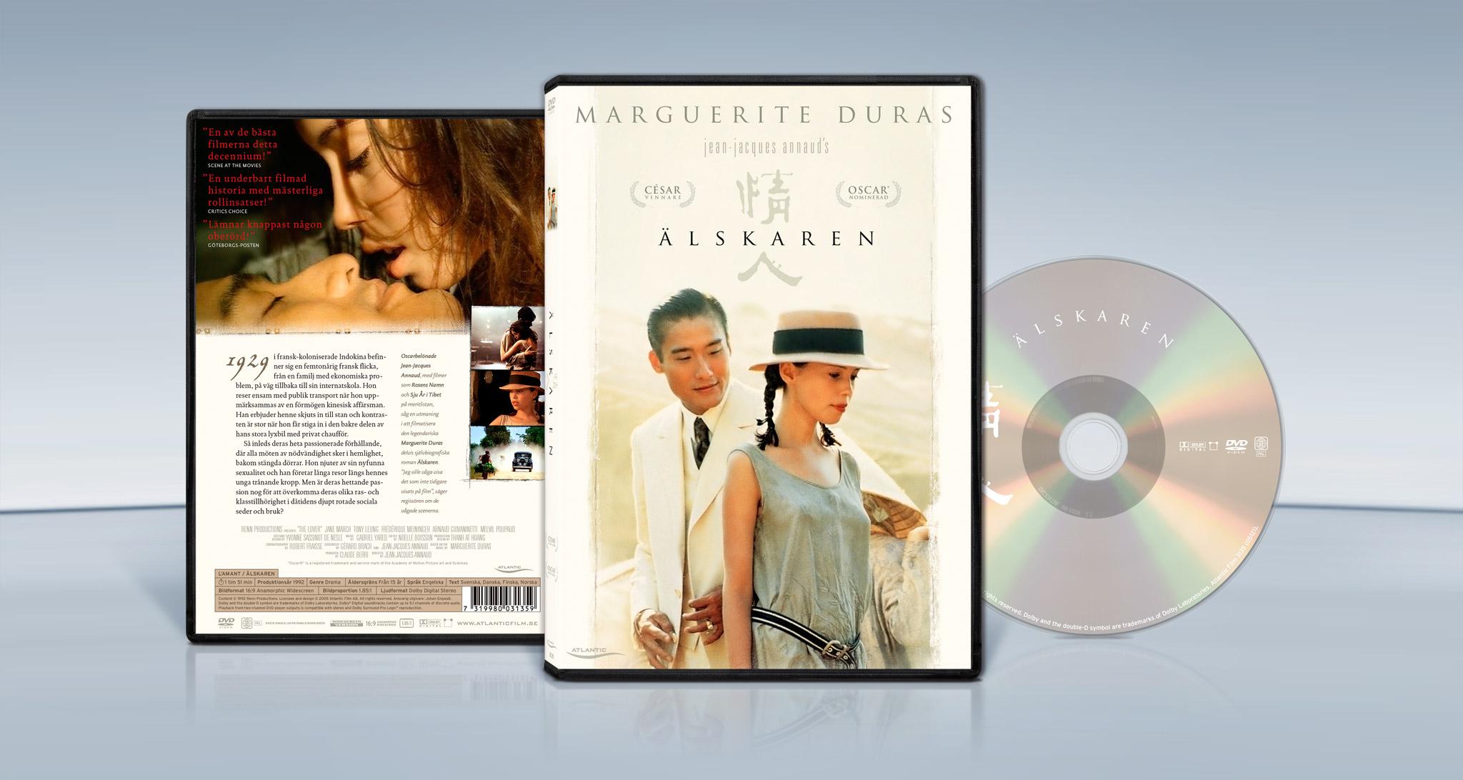 The Lover (1992) Jean JacquesAnnaud dvdcoverpackshot