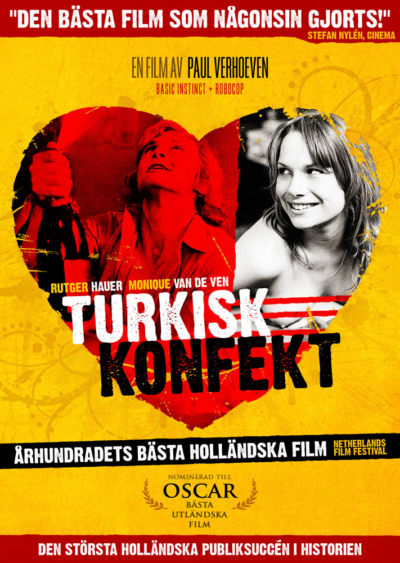 Turkish Delight (1973) Paul Verhoeven key art
