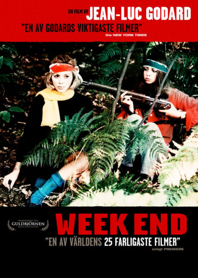 Week End (1967) Jean Luc Godard key art