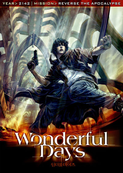 Wonderful Days (2003) Moon saeng Kim key art