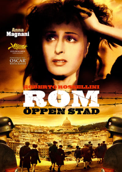 Rome, Open City (1945) Roberto Rossellini key art