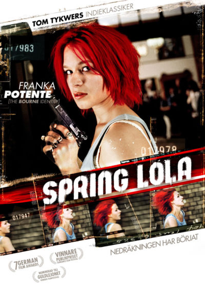Run Lola Run (1998) Tom Tykwer key art