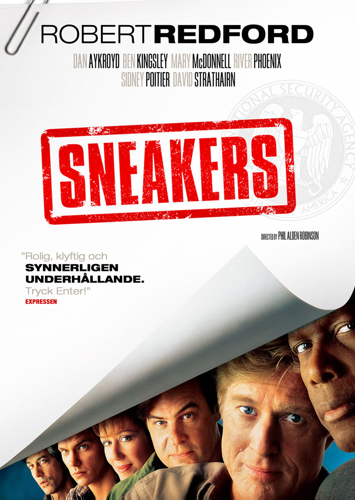 Sneakers (1992) Phil Alden Robinson key art