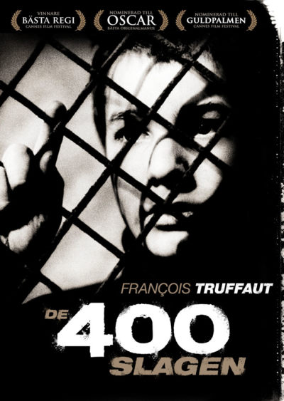 The 400 Blows (1959) Francois Truffaut key art