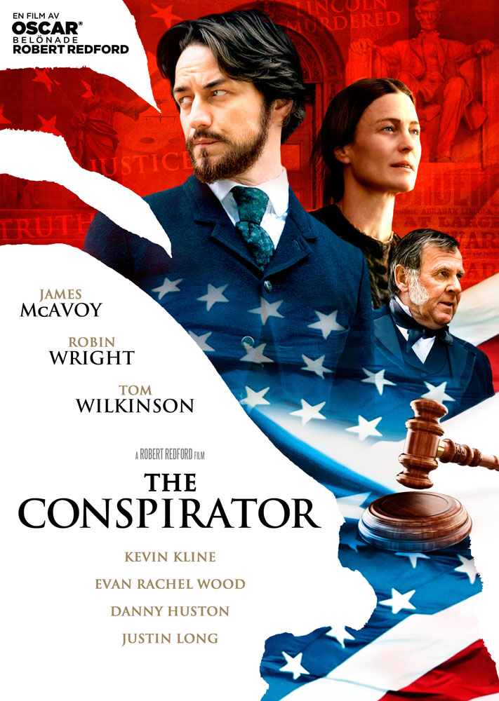 The Conspirator (2010) Robert Redford key art