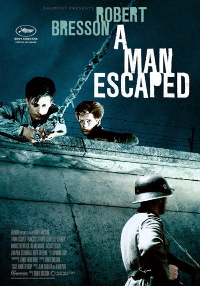 A Man Escaped (1956) Robert Bresson onesheet eng
