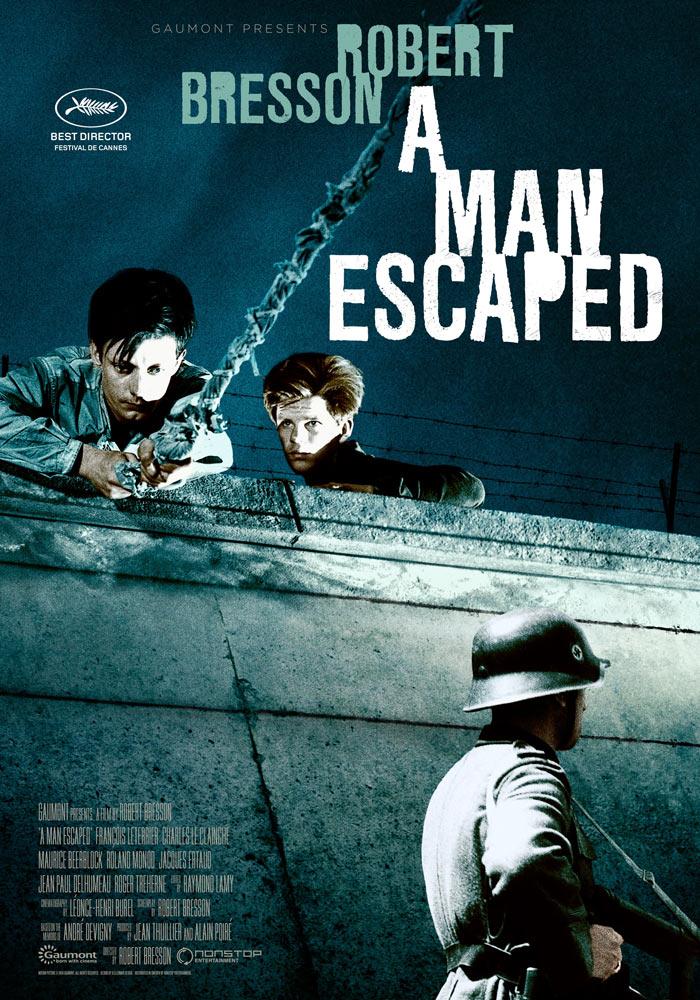 A Man Escaped (1956) Robert Bresson onesheet eng