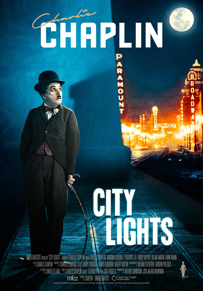 City Lights (1931) Charlie Chaplin onesheet eng