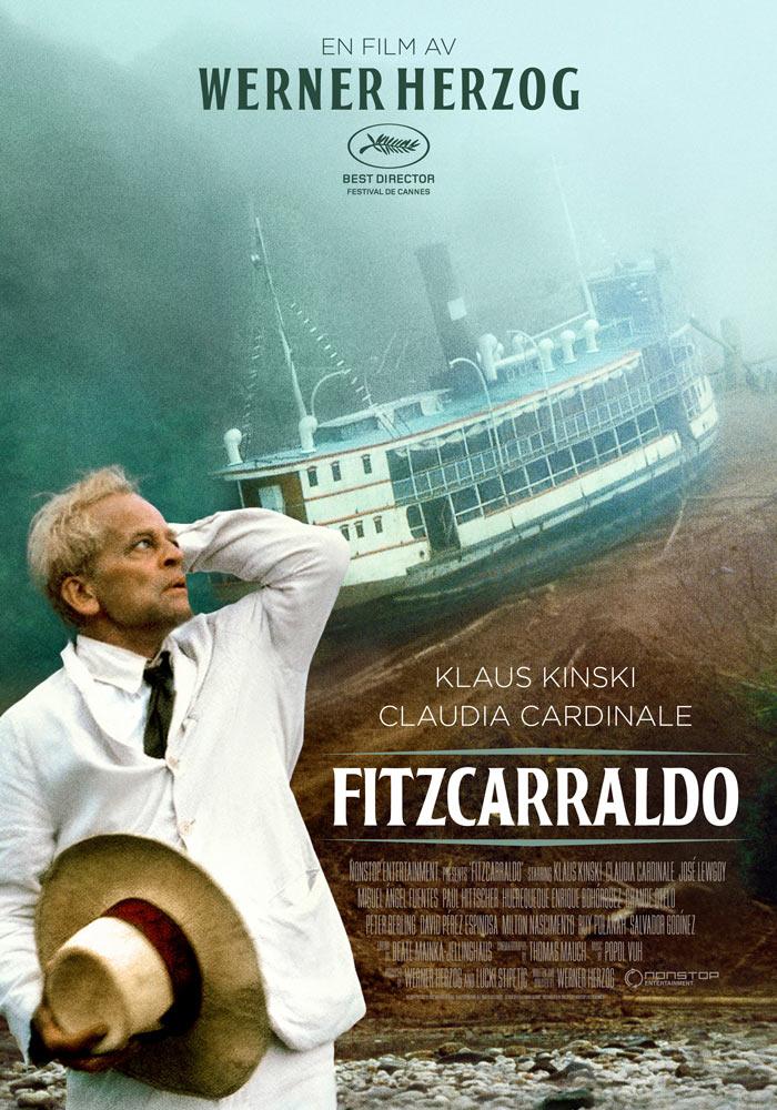 Fitzcarraldo (1982) Werner Herzog onesheet swe