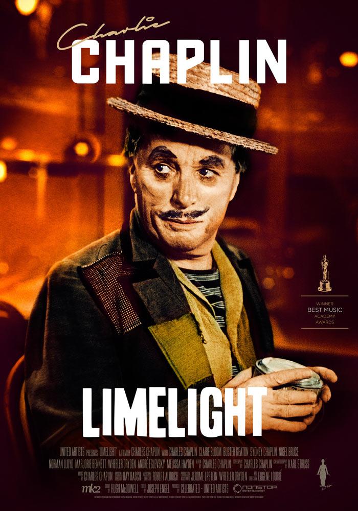 Limelight (1952) Charlie Chaplin onesheet