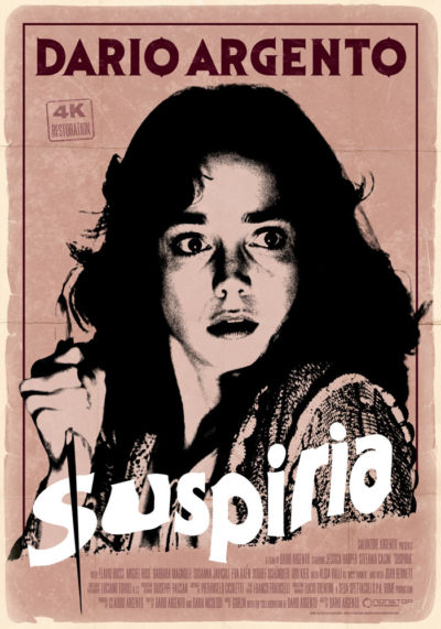 Suspiria (1977) Dario Argento onesheet
