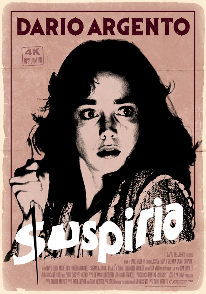 Suspiria (1977) | Movie Poster | Kellerman Design