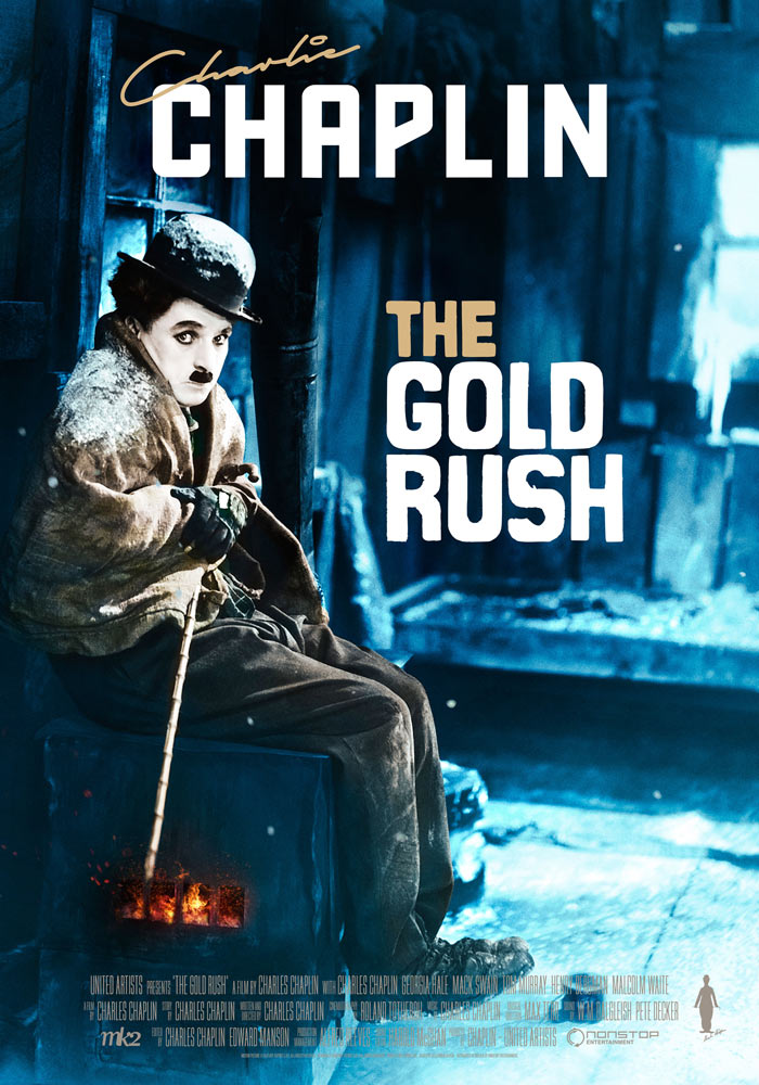 The Gold Rush (1925) Charlie Chaplin onesheet eng