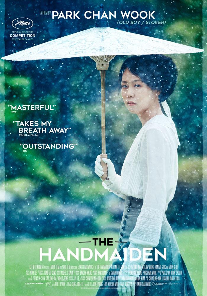 The Handmaiden (2016) Chan wook Park onesheet eng