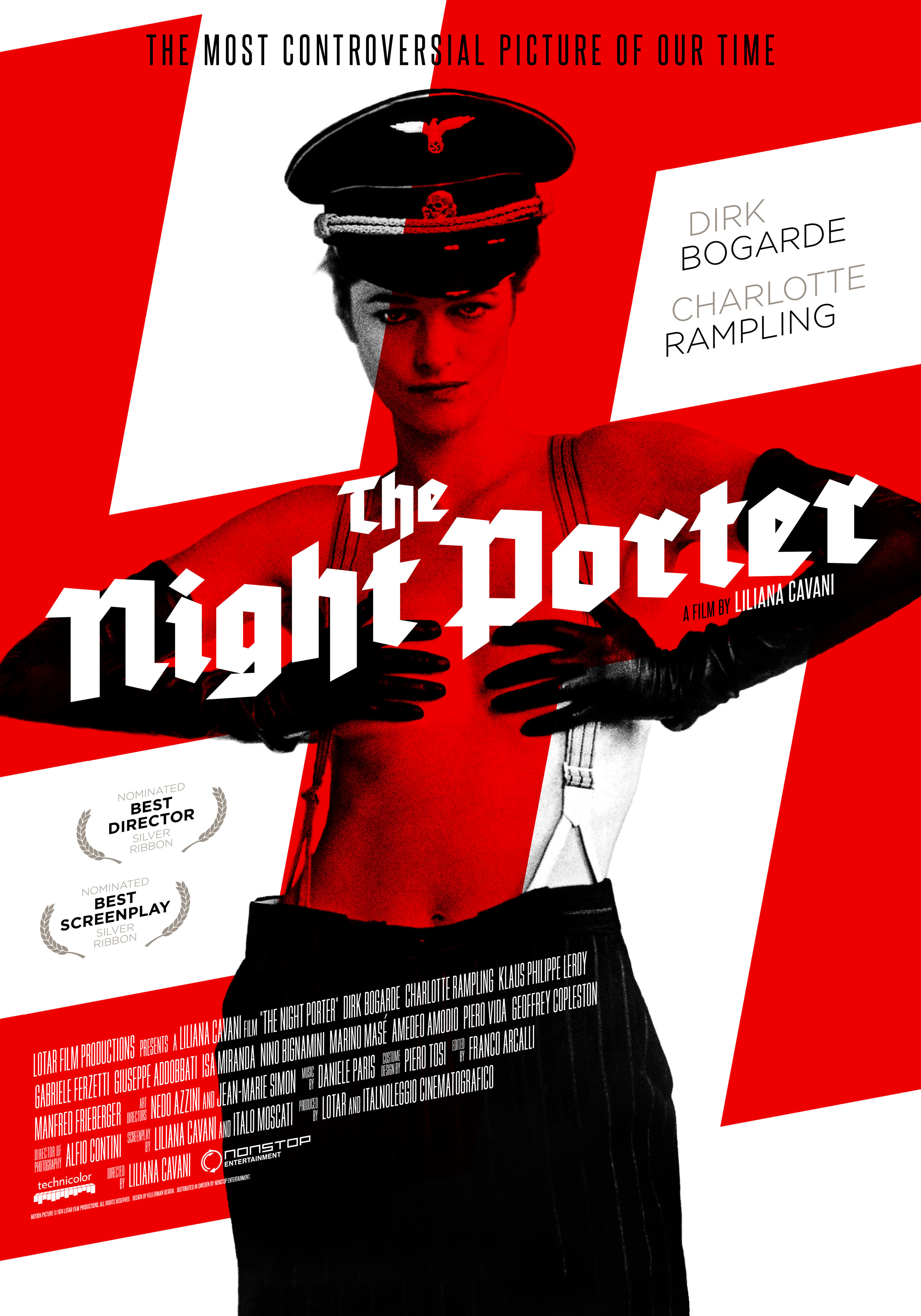 The Night Porter (1974) Liliana Cavani onesheet 2 eng
