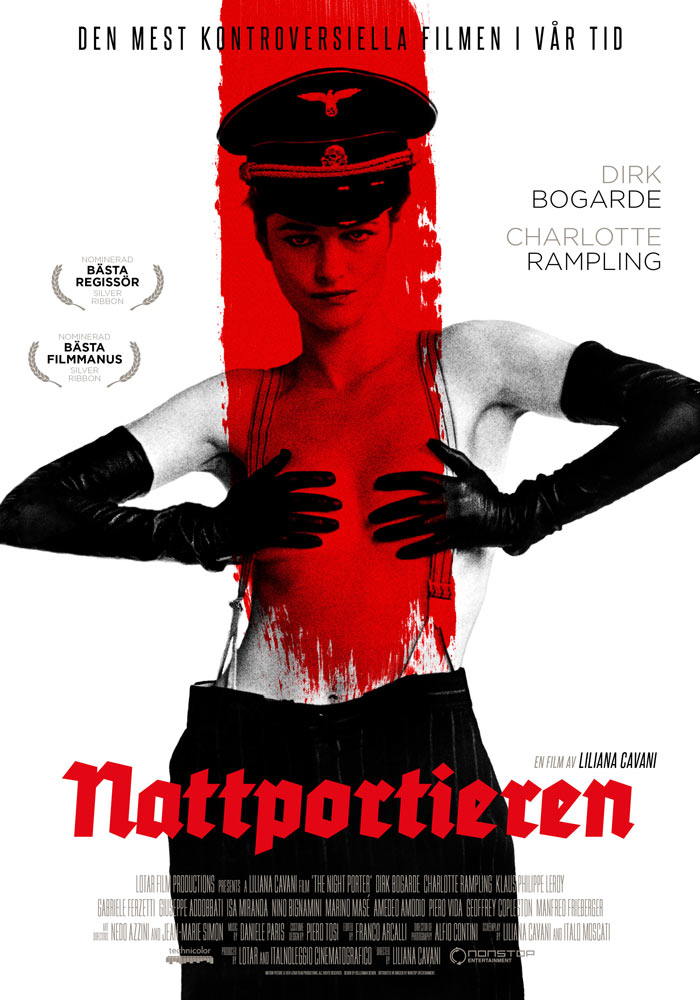 The Night Porter (1974) Liliana Cavani onesheet swe