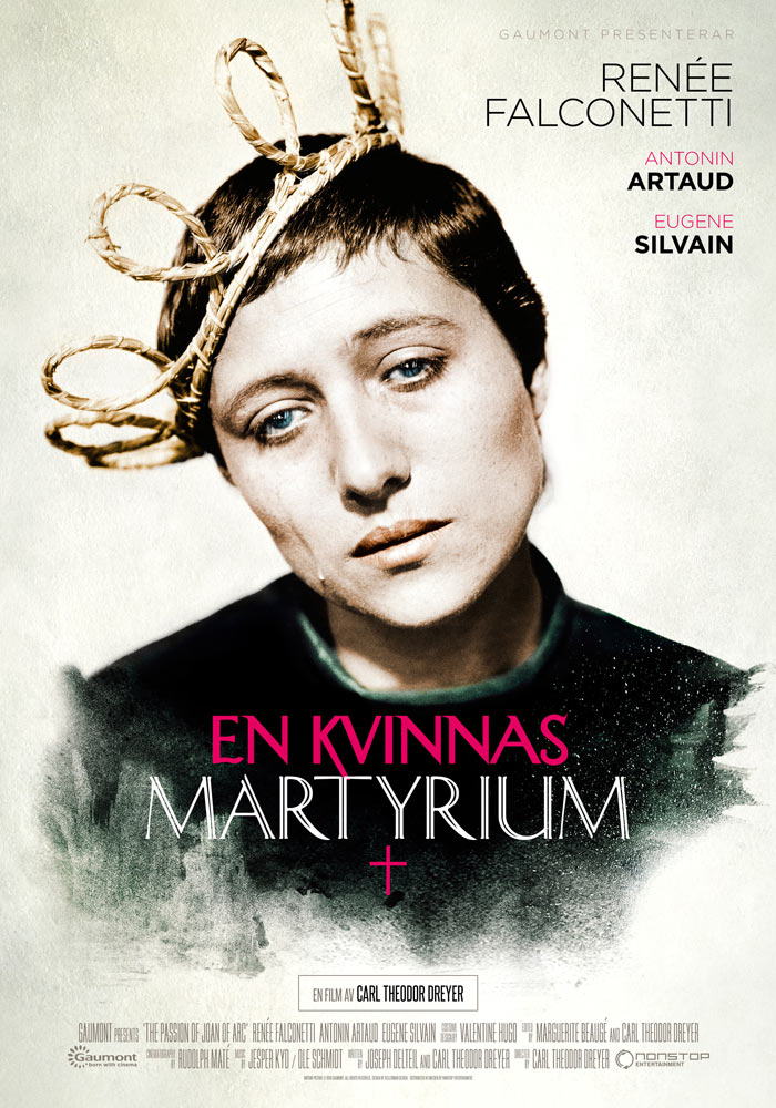 The Passion of Joan of Arc (1928) Carl Theodor Dreyer onesheet swe