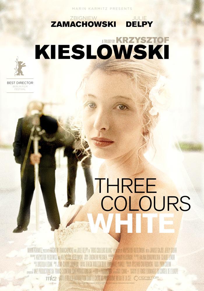 Three Colours White (1993) Krzysztof Kieslowski onesheet eng