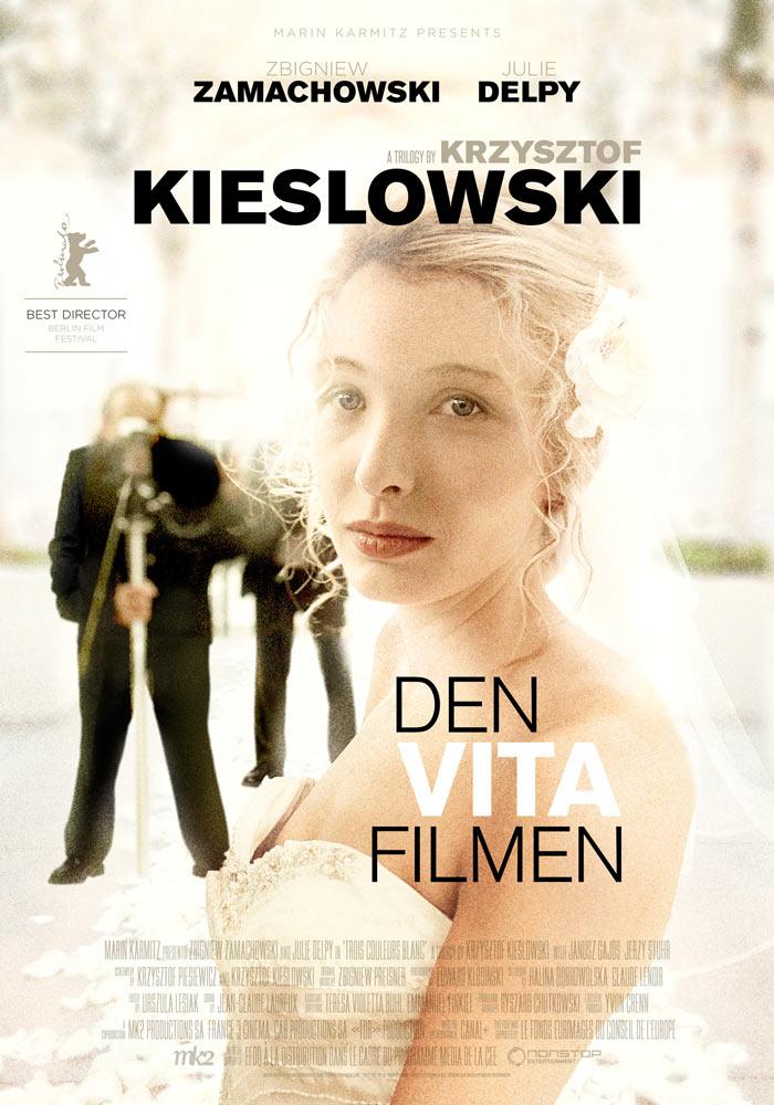 Three Colours White (1993) Krzysztof Kieslowski onesheet swe