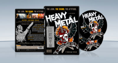 Heavy Metal – Louder Than Life (2006) Dick Carruthers dvd cover packshot
