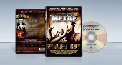Metal – A Headbanger's Journey (2005) Sam Dunn, Scot McFadyen, Jessica Joy Wise dvd cover packshot