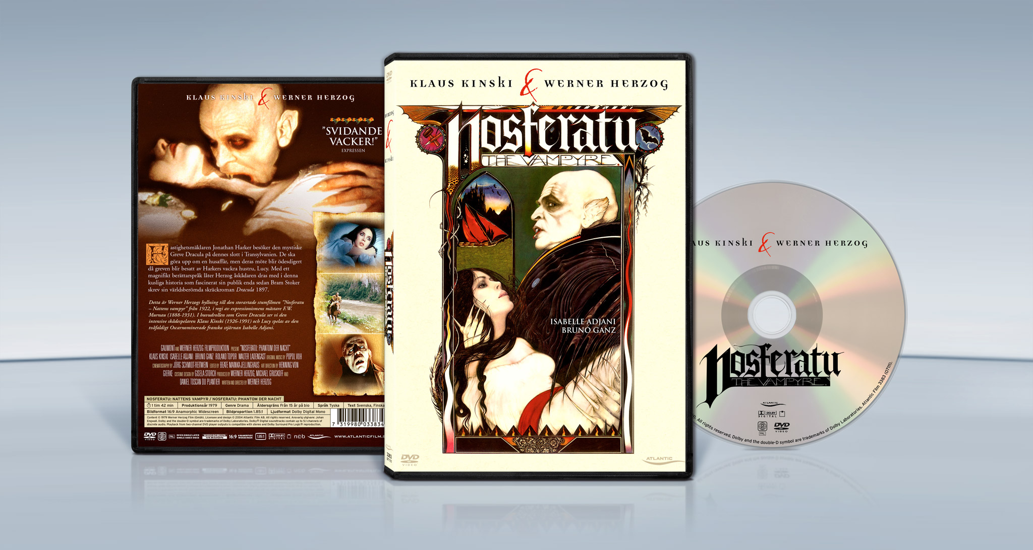 Nosferatu – The Vampyre (1979) Werner Herzog dvd cover packshot
