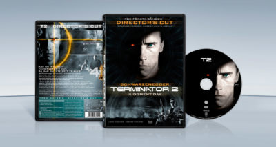 Terminator 2 – Judgment Day (1991) James Cameron dvd cover packshot