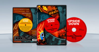 Upside Down – The Creation Records Story (2010) Danny O'Connor dvd cover packshot