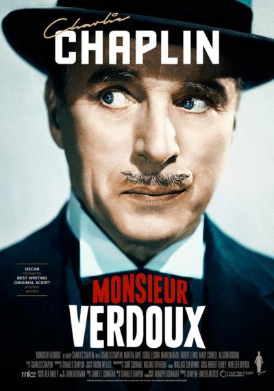 Monsieur Verdoux (1947) Charlie Chaplin onesheet eng