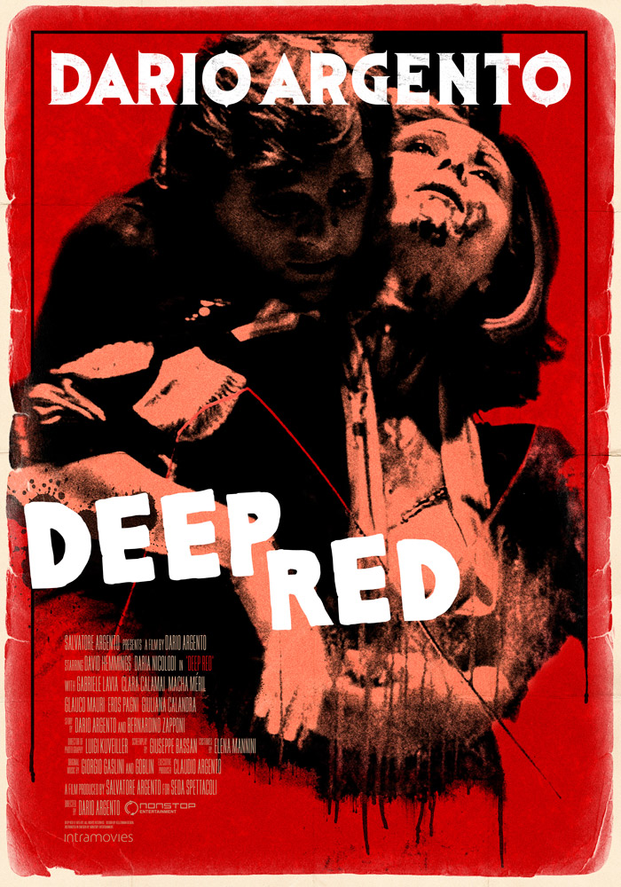 Deep Red (1975) Dario Argento theatrical onesheet