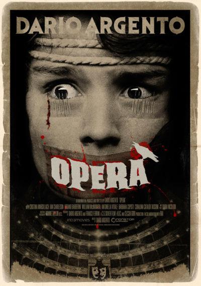 Opera (1987) Dario Argento theatrical onesheet
