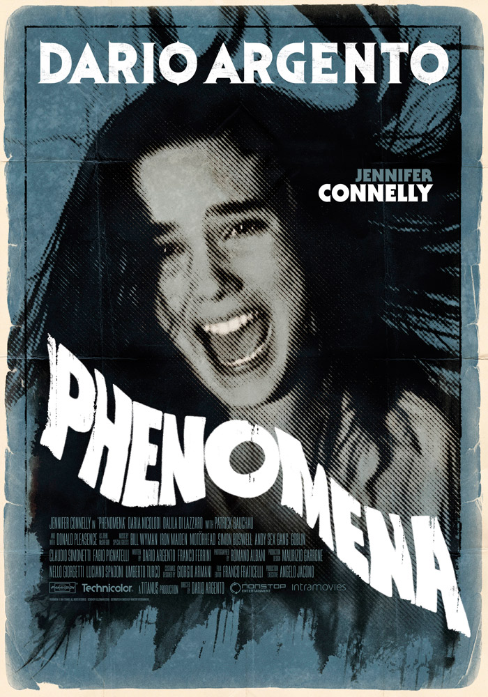Phenomena (1985) Dario Argento theatrical onesheet