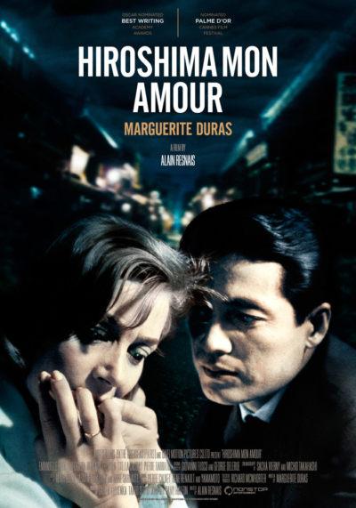 Hiroshima Mon Amour (1959) Alain Resnais theatrical onesheet eng