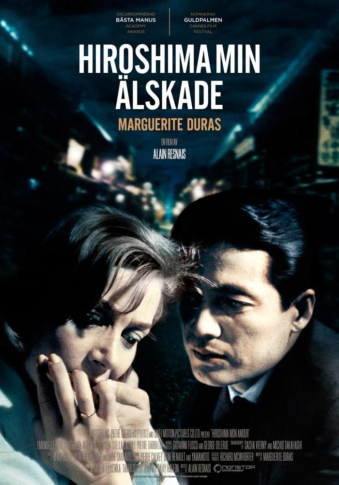Hiroshima Mon Amour (1959) Alain Resnais theatrical onesheet swe