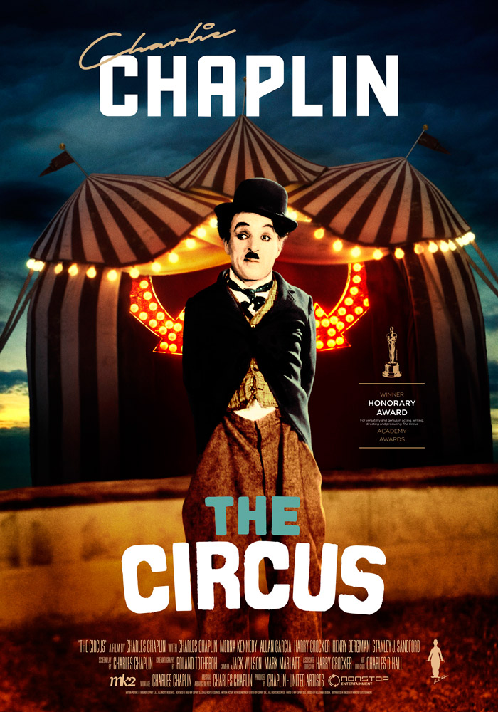 The Circus (1928) Charlie Chaplin theatrical onesheet eng