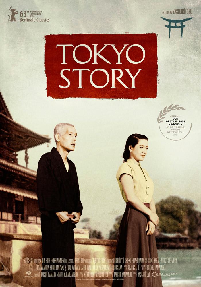 Tokyo Story (1953) Yasujirô Ozu onesheet swe