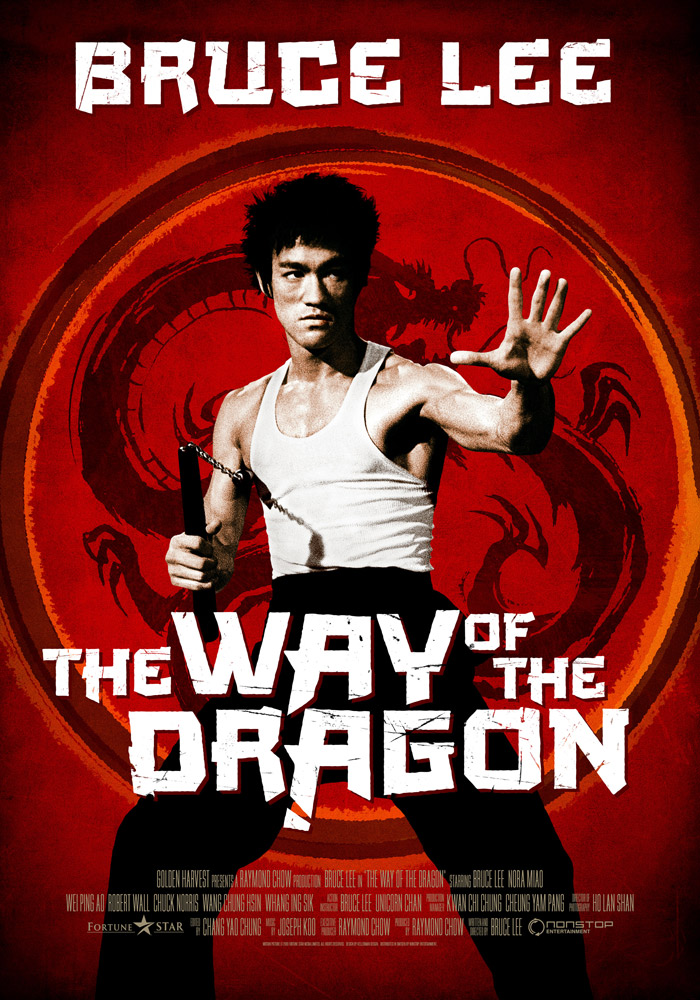 The Way of the Dragon (1972) Bruce Lee theatrical onesheet